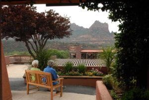 View from the Matterhorn Inn Sedona