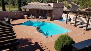 Matterhorn Inn Sedona Arizona pool